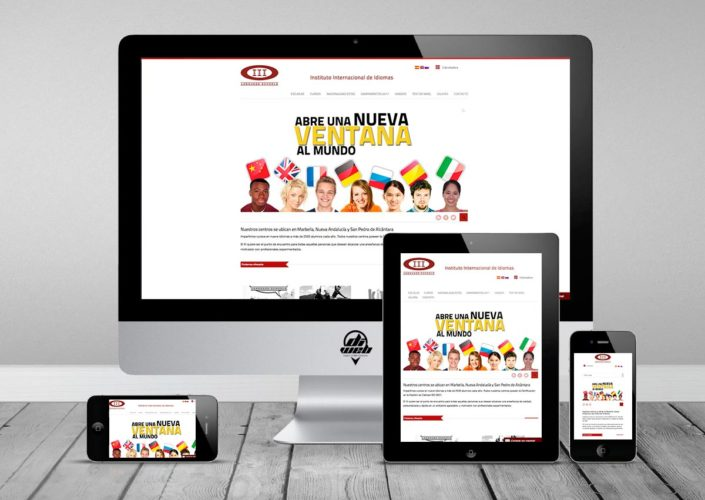 Website Multilingüe desarrollado con WordPress